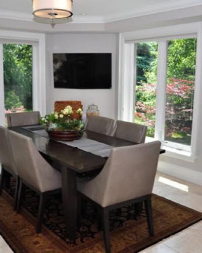 Interior Dining Table Renovation Missinssauga