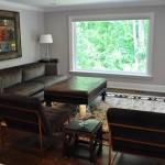 Interior Family Room Renovation
