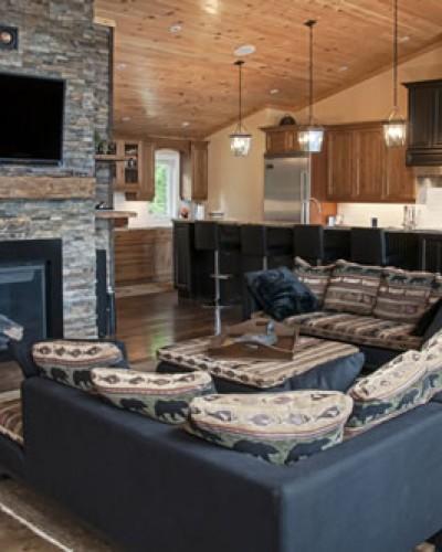 Cottage Living Room Toronto