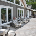 Exterior Muskoka Cottage Chair Setting Toronto